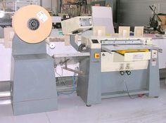 Rilegatrice semiautomatica per spirali modello Rilecart R800