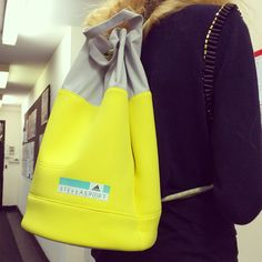 Bright and bold bucket backpack from adidas StellaSport