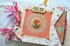 Junk Journal Mini Journal Diary Wedding Book by ArtistsCornerShop