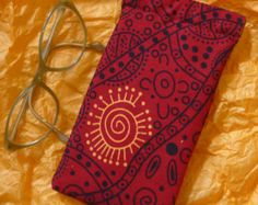 Glasses or cell phone case by TrinArtist on Etsy