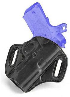 Galco Concealable Belt Holster for S&W 9/40 - Right Hand Black CON472B