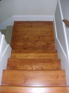 Douglas Fir Stair Treads