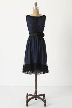 [Stilled Night Dress by Anthropologie]