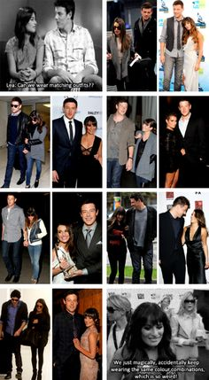 lea michele and cory monteith interview