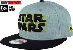 Star Wars Title EMEA Heather Grey New Era 9Fifty Snapback Cap + Gift Box