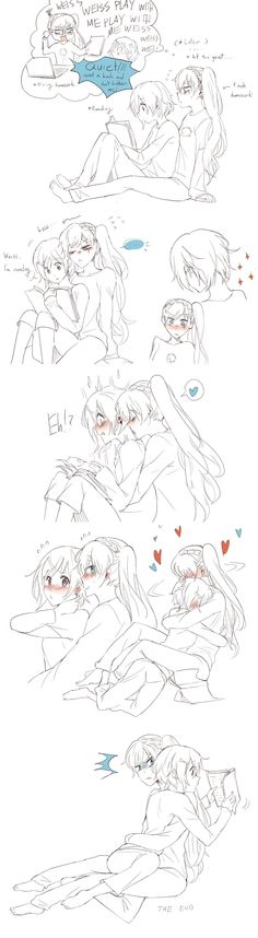 You ignore me first ('3')  when you get too into a book but your gf wants attention by kumafromtaiwan