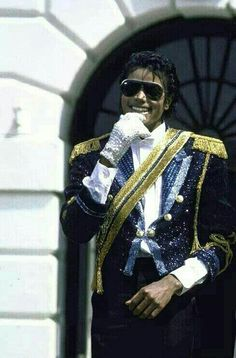 Michael Jackson at the White House, 1984