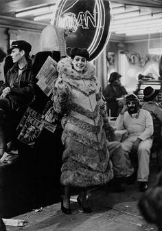Sean Young behind the scenes as Rachael on #BladeRunner (1982)