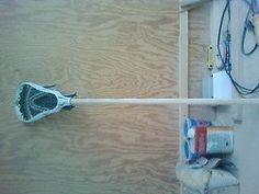 10 Minute Lacrosse Shaft (Wood)