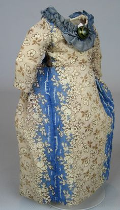 Small Doll Dress ~ Great for French Fashion or China Head Doll
