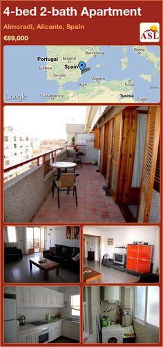 4-bed 2-bath Apartment in Almoradi, Alicante, Spain ►€89,000 #PropertyForSaleInSpain