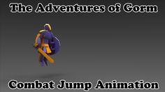 The Adventures of Gorm - Combat Jump Animation - Unreal Engine 4 - Game ...