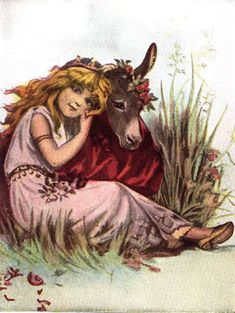 What is the irony of Titania falling in love with a donkey in midsummer nights dream?