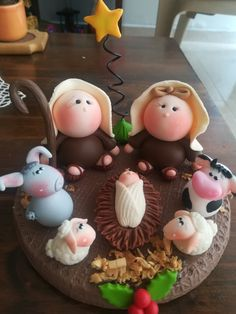 Pasta Flexible, Reyes, Nativity, Fondant, Christmas Crafts, Arts And Crafts, Ideas, Food, Pasta
