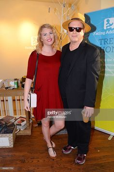 Paulina Combo and Darrell Hammond attend The Younger Leadership Team of Facing Addiction Hosts a Tribute to Lost Laughs at Sag Harbor Cinema on August 19, 2016 in Sag Harbor, NY.
