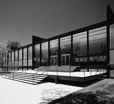 Fotos de alguns projetos de Ludwig Mies van der Rohe :