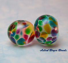 Lampwork Glass Beads | Glass Lampwork Beads Church Windows Stained Glass Beads SRA B 195