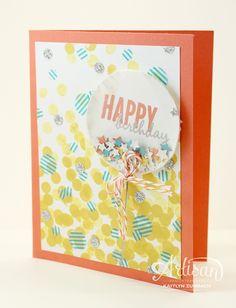 Create with Kaitlyn: Confetti Balloon Birthday - Stampin' Up! Artisan Blog Hop