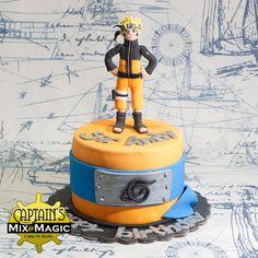 Boruto, Naruto Uzumaki, Bolo Naruto, Anime Cake, 1st Birthday Cakes, Fantasy Art Men, Sweet Ideas, Cakes For Boys, Round Cakes