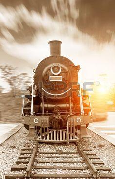 mill sime vapeur aliment chemin de fer noir Banque d'images