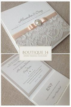 You desire a wedding invitation to complement the general style and state of mind of the wedding event. Is your wedding official or casual? An official wedding might require timeless script fonts, official wording, and the traditional double envelope. Beautiful Wedding Invitations, Wedding Stationary, Wedding Invitation Cards, Wedding Cards, Diy Wedding, Dream Wedding, Wedding Day, Wedding Invitations Diy Handmade, Invitation Design