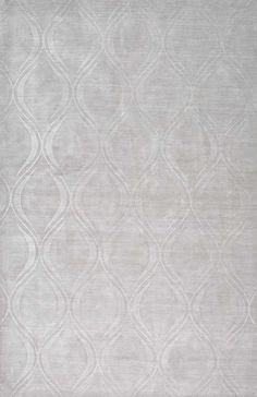 Monochrome Cs02 Carved Teardrops Rug