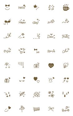 Easy Doodles Drawings, Simple Doodles, Cute Doodles, Kawaii Doodles, Cute Small Drawings, Mini Drawings, Doodle Art For Beginners, Drawing Tutorials For Beginners, Small Doodle