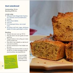 Zoet Notenbrood uit het boek OERsterk koken!