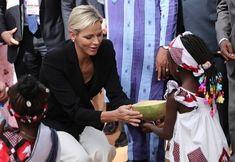 Princess Charlene's and Prince Albert's visit to Burkina Faso
