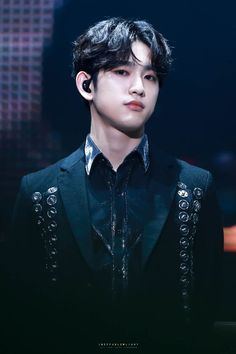Image result for GOT7 Jinyoung in red suit