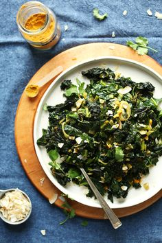 Best recipe I've tried Since becoming Vegan - Coconut Curried Greens!