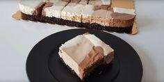 Hrnčekový koláč S TROMI KRÉMAMI - neskutočná pochúťka, ktorá sa vám rozplynie na jazyku! - Babičkine rady Vanilla Cake, Chocolate Cake, Feta, Diy And Crafts, Cheesecake, Food And Drink, Cooking Recipes, Pie, Chicolate Cake