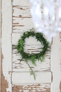 Alabaster Rose Lifestyle - sweet little wreath.