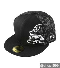 size 40 d93b9 3c0a4 Metal Mulisha Crucial Hat Men s Baseball Cap Black 59Fifty Fitted Skull  Logo  MetalMulisha  BaseballCap