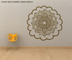 Abstract decal