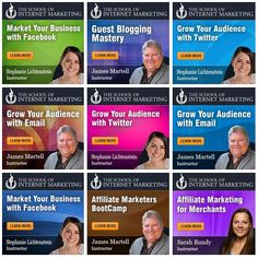 Sign up for the School of Internet Marketing's affiliate program and get 35% recurring commissions. Here are the banners.