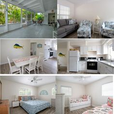 Enjoy a simple, island life in this adorable duplex west of Gulf Drive and just one house from the beach in the quaint village of Anna Maria. Sun and Seadar Bradenton Beach, Indian Shores, Two Twin Beds, Anna Maria Island, Screened In Porch, Updated Kitchen, King Beds, Island Life, Two Bedroom
