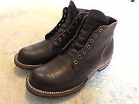 Viberg (one of a kind) Brown Bullhide Service Boots Size 9 — Barely Worn