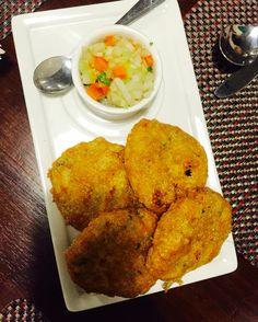 Chickenpattice (chicken patties) a Parsi  dish from batlivala and khanaboy Parsi restaurant in Chennai #foodielife