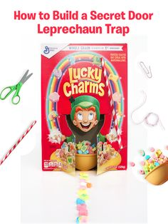 Print out Lucky the Leprechaun to add to your St. Patrick