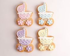 Sam Baby Carriage - cookie favors, same place, also $5.50 each.  Maybe cheaper stroller cookie favor alternative?  not as beautiful as the Casue ones though.
