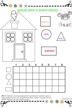 Cutting Activities, Cute Calendar, Montessori, Math, Triangles, Martini, Geometric Fashion, Activities, Shapes