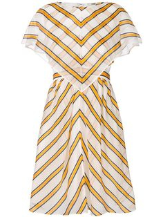 쇼핑 Fendi 스트라이프 시프트 드레스
