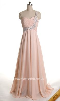 One Shoulder Beading Floor Length Sweetheart Elegant Prom Dress 2013