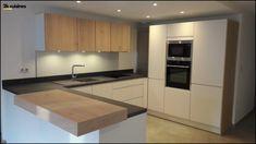 White Wood Kitchens, Kitchen Cabinets, House Inspo, Cabinet, Home Decor, Wood Kitchen, Modern Kitchen Design, Kitchen Design, White Wood