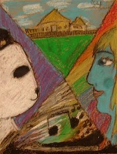 Marc Chagall Lesson Plan: Art History for Kids - KinderArt ...