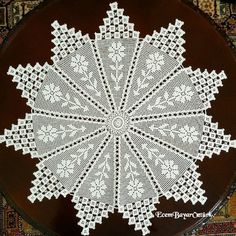 Best 12 Oval crochet doily new hand crocheted doilies ecru doily – SkillOfKing. Crochet Doily Patterns, Baby Knitting Patterns, Crochet Motif, Crochet Designs, Crochet Doilies, Hand Crochet, Crochet Lace, Crochet Stars, Thread Crochet