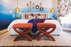 8 Gorgeous Ottoman Designs For Your Living Room >> http://www.hgtv.com/design-blog/design/8-ottomans-you-didnt-know-you-needed?soc=pinterest