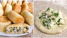 Mixture to Remove Toxins from Your Intestines Puff Pastry Recipes, Cake Ingredients, Kefir, Spanakopita, Tart, Cake Recipes, Cheese, Chicken, Ethnic Recipes