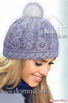 Девочки! Вот такую шапочку нашла в инете, вот описание: http://www.domnika.ru/ Кажется такой еще не было, но возможно я и ошибаюсь Может кому пригодится!